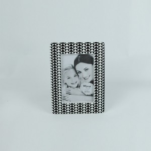 Wholesale high quality fashion home decoration ceramic photo frame