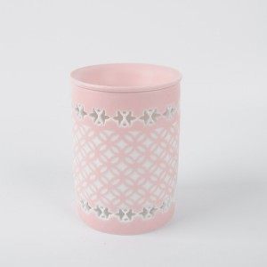 Newly Style Ceramic Oil Burner Floral+Tealight