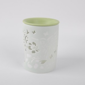 New design modern family life fragrance ceramic oil burner, oil diffuser