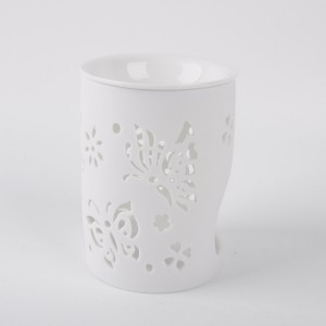 Home Decorative Cerami oil burner with wax