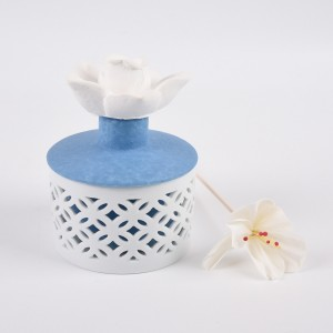 New Ceramic bottle Aroma flower Reed diffuser