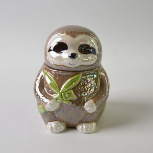 Kitchen Canister sloth Ceramic Jar Ceramic Cookie Jar