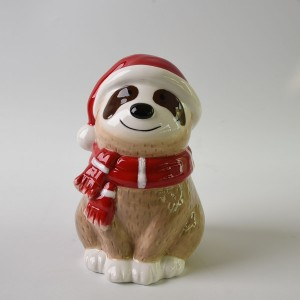 sloth design ceramic money box kids money boxes craft craft for kids ceramic crafts