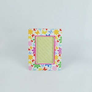 Modern design square shape green funny wedding ceramic picture photo frame for home