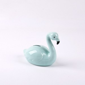 Child to Cherish Mini Ceramic Duck Piggy Bank