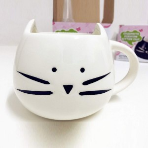 Ceramic Cat Morning Mug Ceramic Cup for Tea Coffee Milk