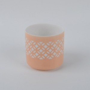 Ceramic Handmade Cup Shape TeaLight Holder Oil Wax Warmer Burner Diffuser