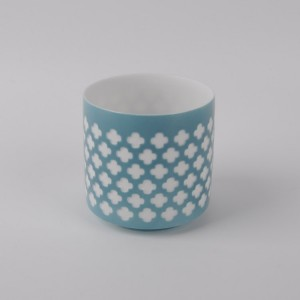 Ceramic Decorative Candle Holder with hollowed- outwork