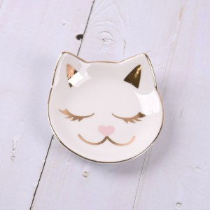 Cat Ring Dish Holder Trays For Jewelry