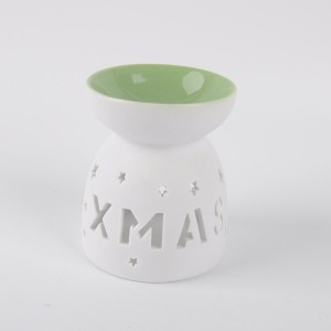 Fragrance XMAS fancy porcelain unique aroma perfume oil burner