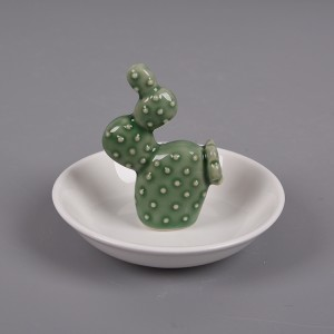 Cactus Ring Holder by BestCeramic