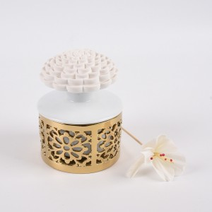 Ceramic oil diffuser portable ultrasonic diffusers aroma