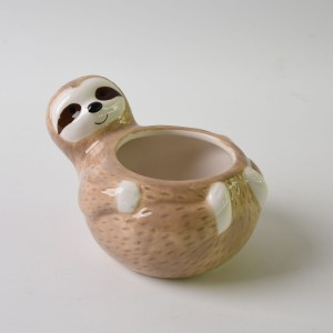 Ceramic Sloth Mug,3D Sloth Cup, Porcelain Sloth mugs with handgrip