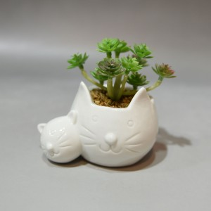 Cat Face Planter