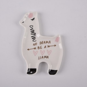 Llama Love Santa Fe Trinket Dish for  BestCeramic
