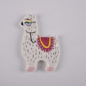 Ceramic Llama Dishes, Trinket Holder, Small Jewelry Or Ring Tray