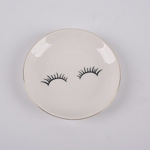 Star Eye porcelain trinket tray