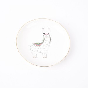 Ceramic  llama plate | Plates on wall, Plates, Ceramic plates