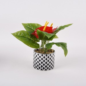 newest artificial anthurium flower on sale
