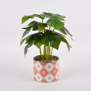 cheap wholesale artificial tropical plants with banana leaves