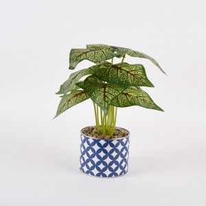 cheap wholesale indoor decorative Variegated Dieffenbachia planter artificial dieffenbachia plant