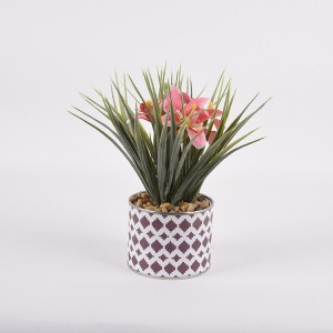 Plastic Home Decoration Tulip Artificial Flower Plant
