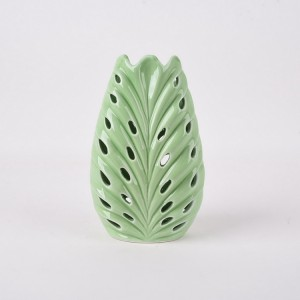 Artificial Design Ceramic Porcelain Cactus Vase