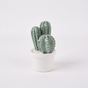 Modern Ceramic Cactus Decorations